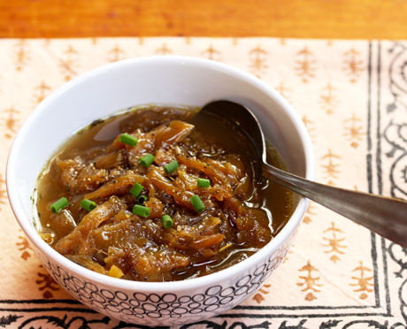 Quick And Easy Caramelized Onion Soup Recipe Soup Chick