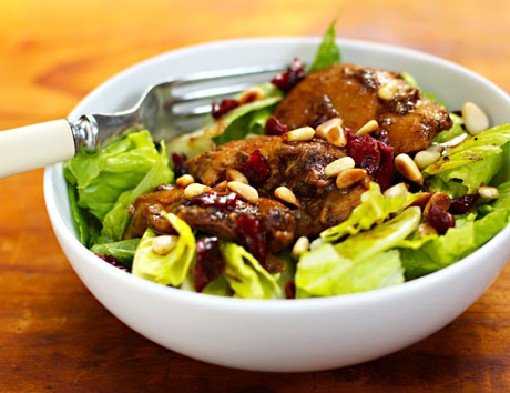 Slow-cooker-pomegranate-chicken-salad-detail