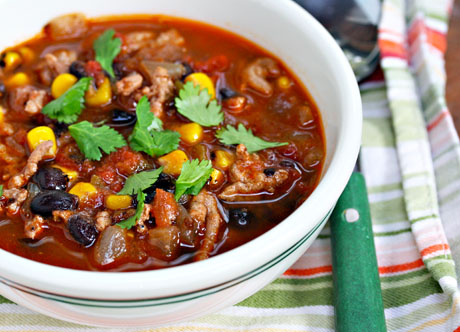 Chipotle-turkey-black-bean-and-corn-soup