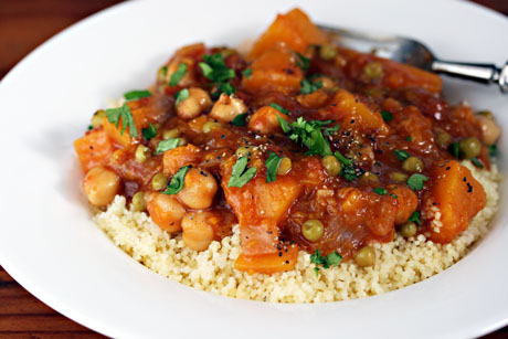... ®: Recipe for vegan butternut squash and chickpea stew {gluten-free