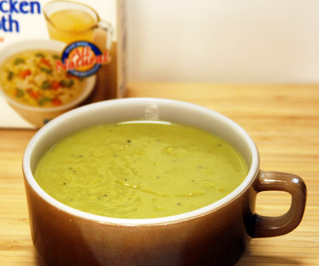 The Perfect Pantry®: Chicken broth (Recipe: chilled asparagus soup)