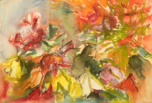 WInter Roses #2 (2012) 22.5 x 15 Typepad