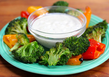 Roasted-vegetables-with-creamy-meyer-lemon-dipping-sauce