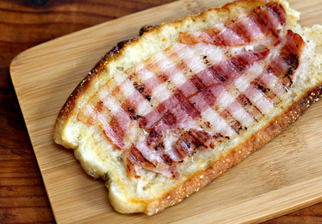 Bacon-and-egg-tartine-bacon-only