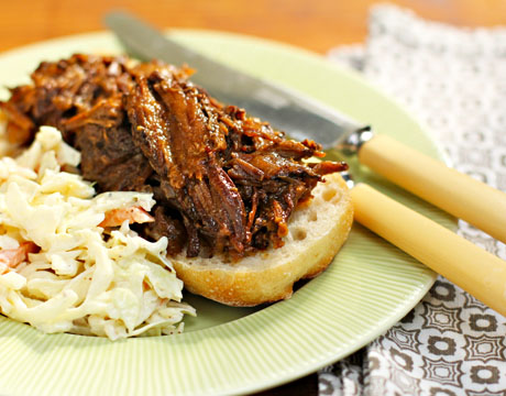 Slow-cooker-sweet-and-smoky-beef