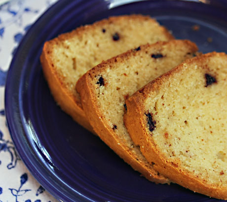 Chocolate chip spice pound cake, from The Perfect Pantry.