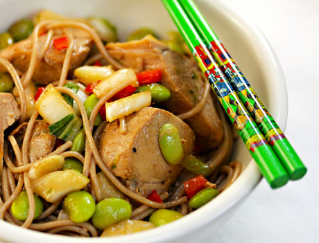 Ginger-lime-tuna-with-buckwheat-noodles