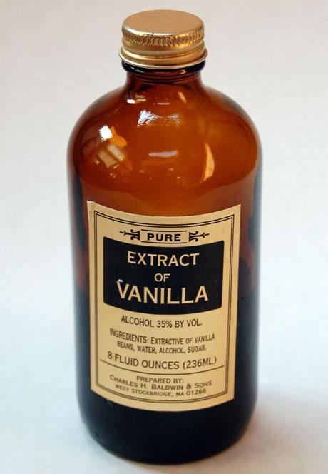The Perfect Pantry®: Vanilla extract (Recipe: ice cream