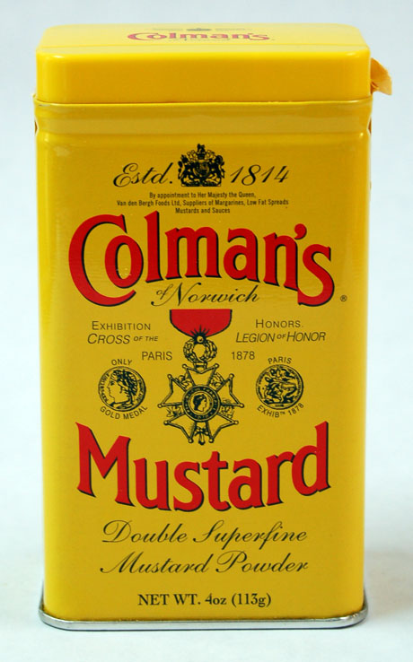 The Perfect Pantry®: Colman's Mustard (Recipe: mustard with honey ...