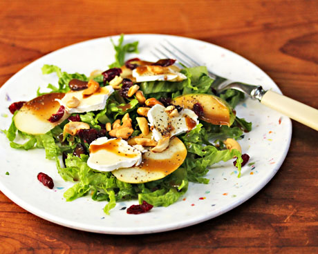 Pear-and-brie-salad