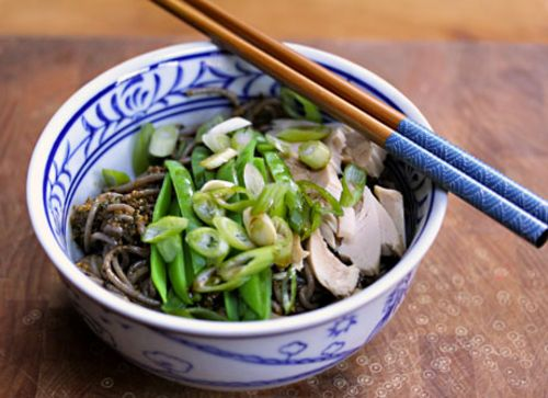 Spicy pesto soba, from The Perfect Pantry.
