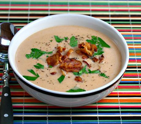 Irish-blue-cheese-and-tomato-soup