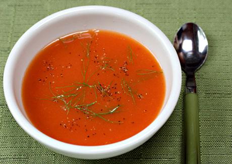 Tomato-orange-fennel-soup