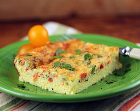 for egg and cheese breakfast casserole with smoked salmon and leeks ...