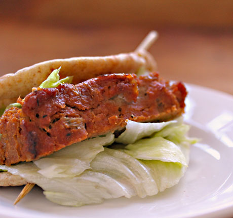Cowboy turkey meatloaf, even better on Day 2 in a sandwich.