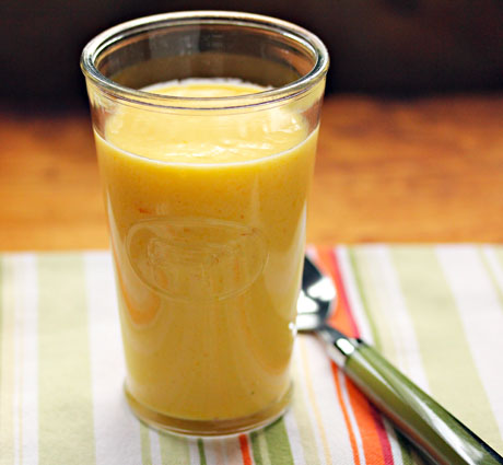 Try a mango lassi (an Indian smoothie) for breakfast, or dessert.