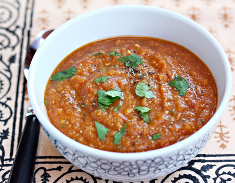 Chipotle-red-lentil-and-tomato-soup
