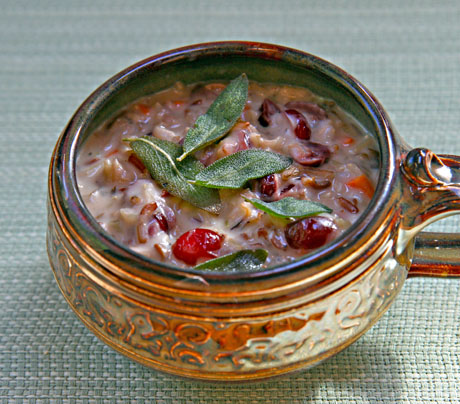 Wild-rice-and-cranberry-soup