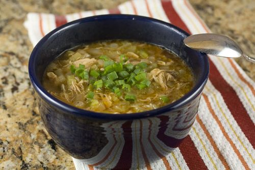 Bettyjean's basic chicken gumbo, from Macheesmo (on Soup Chick).