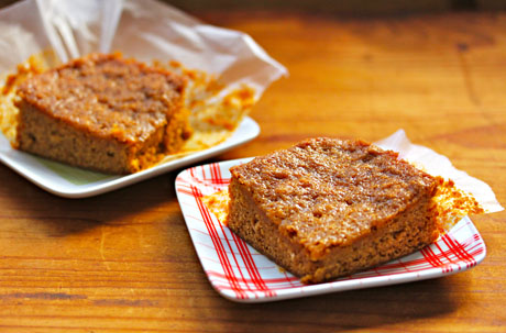 Real Caribbean gingerbread, sticky and spicy!