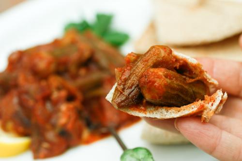 Okra Stew Vegan From Taste Of Beirut Soup Chick