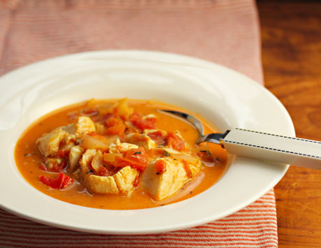 Jamaican run down (fish stew), on The Perfect Pantry.