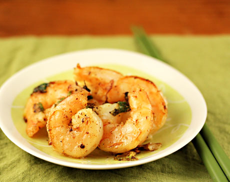 Szechuan salt and pepper prawns will spice up any party.