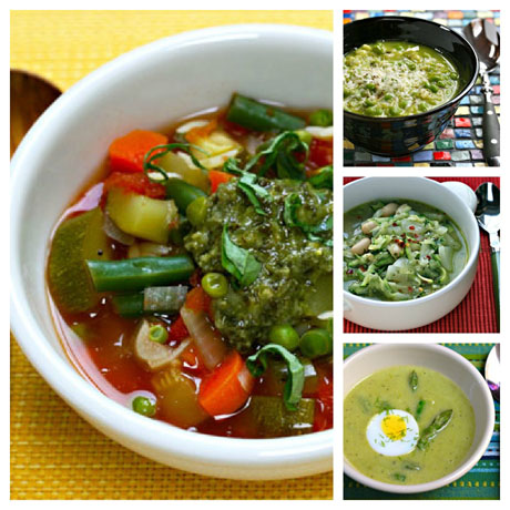 Green-soups-collage