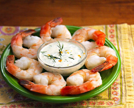 Shrimp-with-meyer-lemon-dill-dipping-sauce-the-perfect-pantry