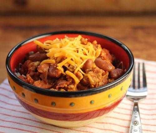 President Obama's turkey chili (The Perfect Pantry).