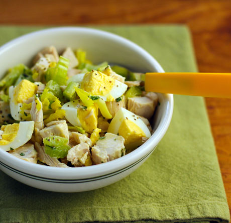 The Perfect Pantry®: Recipe for chicken and egg salad with ...