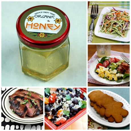 Five favorite recipes with honey.