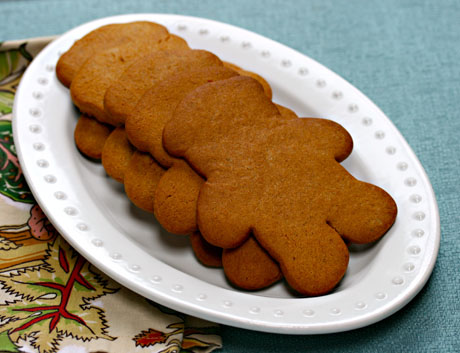 Honey gingerbread cookies.