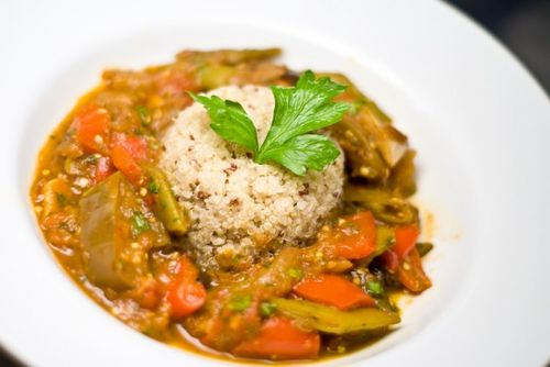 North African vegetable stew, from No Recipes.
