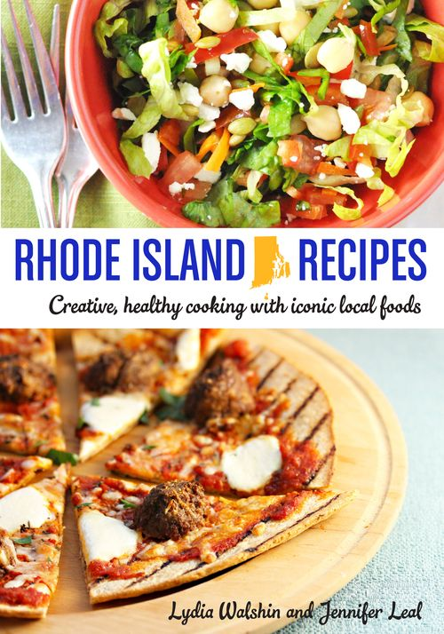 Rhode Island Recipes, a new cookbook featuring favorite culinary souvenirs.