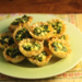Recipe for spinach and feta phyllo cups {vegetarian}