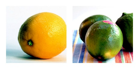 Lemon or lime?