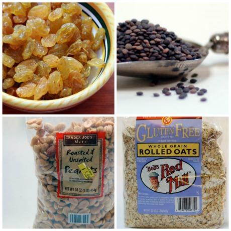 Raisins-collage