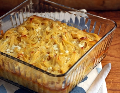 Noodle kugel, for any holiday celebration.