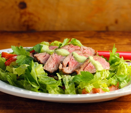 Quick and easy steak salad (The Perfect Pantry).