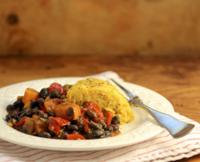 Black-bean-sweet-potato-stew-polenta