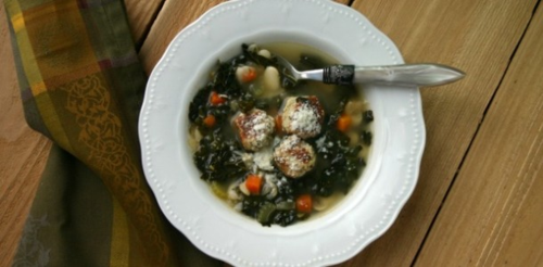 Skinny Italian wedding soup, from Everyday Maven (on Soup Chick).