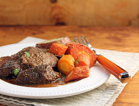 Slow cooker pot roast (The Perfect Pantry).