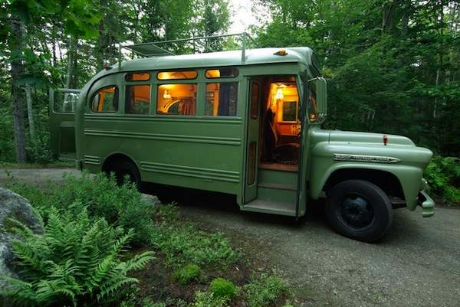 Viking short bus conversion.