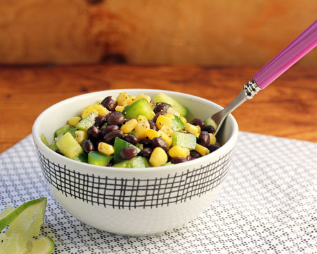 Black bean and corn salad (The Perfect Pantry). #vegan #glutenfree