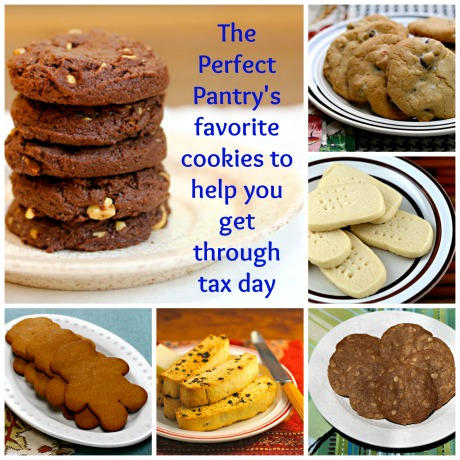 Favorite cookies (to help you finish your taxes)! #cookies