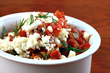... Pantry®: Feta cheese (Recipe: baked shrimp with tomatoes and feta