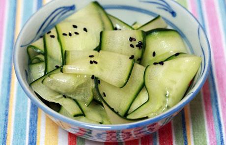 Cucumber Salad Recipe Rice Wine Vinegar