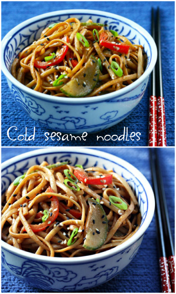 Sesame noodles, better than take-out!