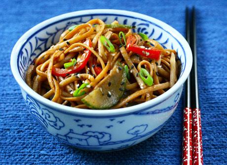 Cold sesame noodles, just like your favorite takeout restaurant.